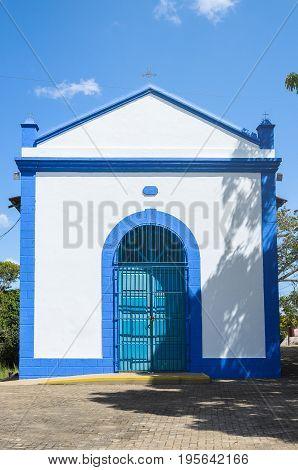 Front View Of Capela De Santo Antonio De Padua In Porto Velho
