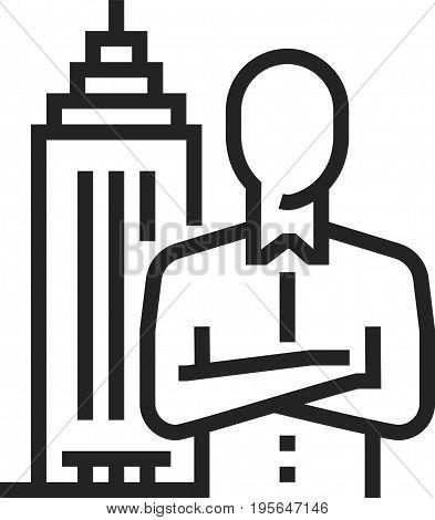 Executive Search Icon