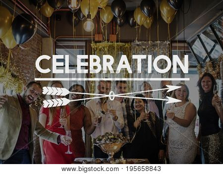 Celebrate Meet You Party Cheers Social Festive