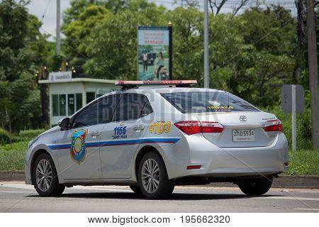 Police Car Of Tourist Police.toyota Corolla Altis.