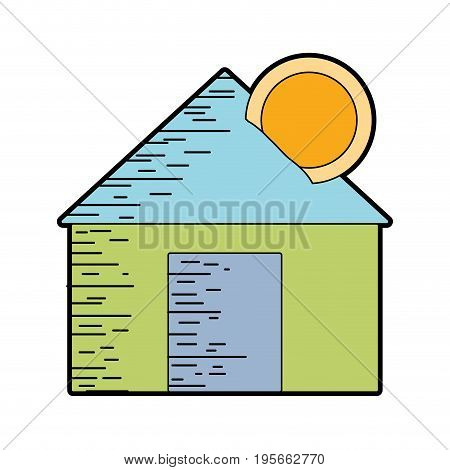 house to save cash money economy vector illustration
