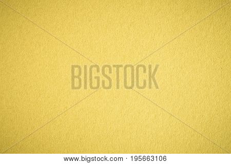 yellow paper sheet abstract texture background for design