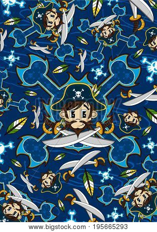Pirate Captain Pattern.eps