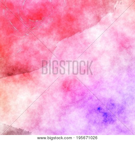 pink red violet watercolor painting texture effect beautiful background design graphic in high resolution for your design project or website