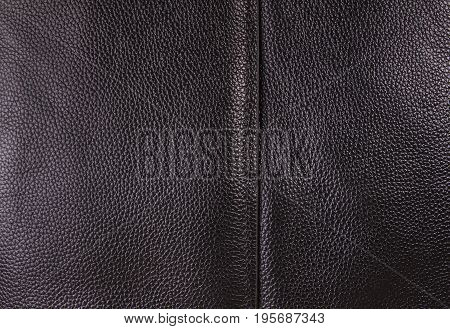 black leather texture background; Leather texture as background