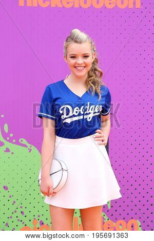 LOS ANGELES - July 13:  Jade Pettyjohn at the Nickelodeon Kids' Choice Sports Awards 2017 at the Pauley Pavilion on July 13, 2017 in Westwood, CA