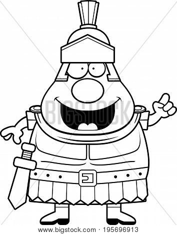 Cartoon Roman Centurion Idea