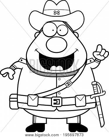 Cartoon Confederate Soldier Idea
