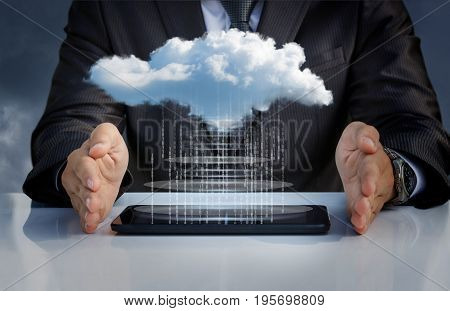 Downloading Data From The Cloud .