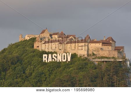 Rasnov Citadel (romanian: Cetatea Rasnov, German: Rosenauer Burg) Is A Historic Monument And Landmar