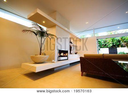 A modern, designer house - interior