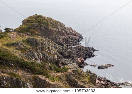 Kullaberg - Wild rocky coast on western Sweden
