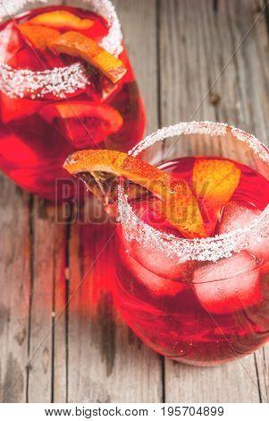 Cocktail Bloody Orange Margarita
