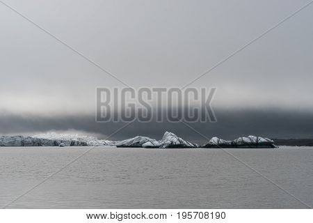 The glacier Skaftafellsjokull is an outlet of Vatnajokull which is the largest continental glacier in Europe