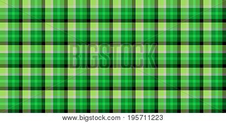 Lime Green Seamless Scottish Tartan Background Texture