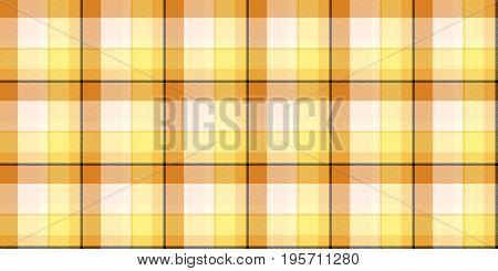 Melon Orange Seamless Scottish Tartan Background Texture