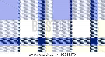 Blue Sky Seamless Scottish Tartan Background Texture