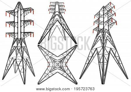 Transmission Electricity Towe...