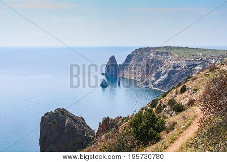The Coast Of The Black Sea Near Cape Fiolent