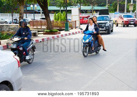 Thailand Motrobike Riding