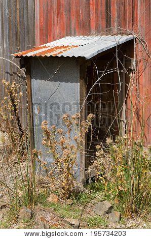 Metal Shelter For Pump