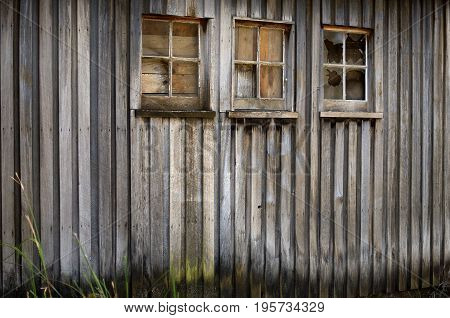 Old Timber Farm Building