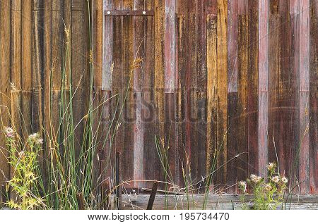 Weathered Timber Background