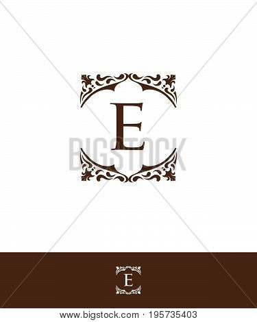 Luxury Letter E logo vector for your company