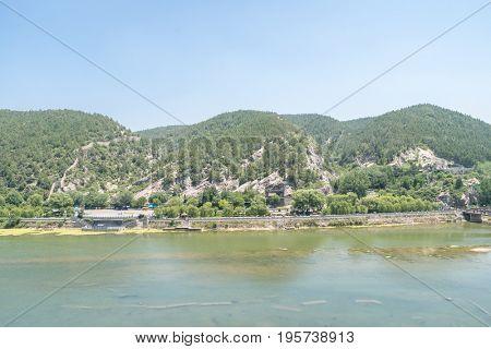 Longmen Grottoes Luayang Henan China