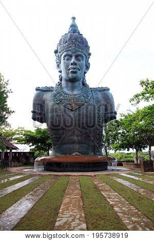 Architecture of Wisnu Garuda Kencana God Cultural Park Bali Indonesia