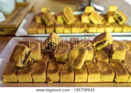 Tradition Taiwanese Pineapple pie sweet dessert