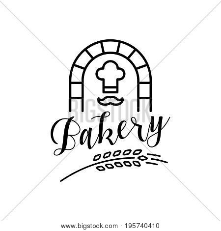 Outstanding Unique Vector Bakery Logo Template Illustration