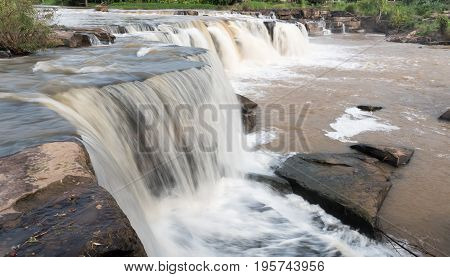Poi Waterfall In Phitsanulok Province