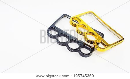 Knuckle Ring Mobile Case In Varnish Color