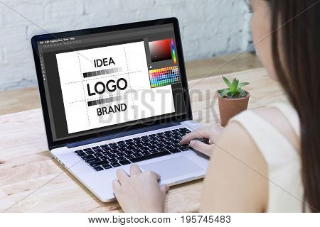 Design Creative Creativity Work Brand Designer Sketch Graphic  Logo Design Business Concept