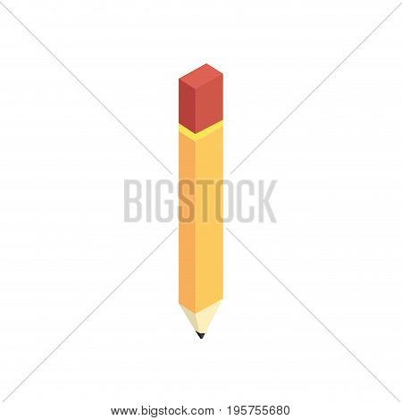 pencil tool to writting and draw vector illustration