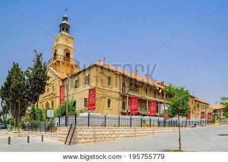 The Historic Schneller Orphanage Building, In Jerusalem
