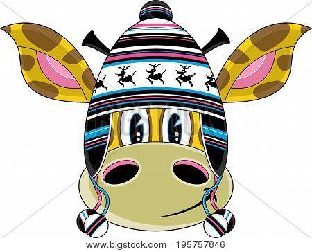 Funky Wooly Hat Giraffe.eps