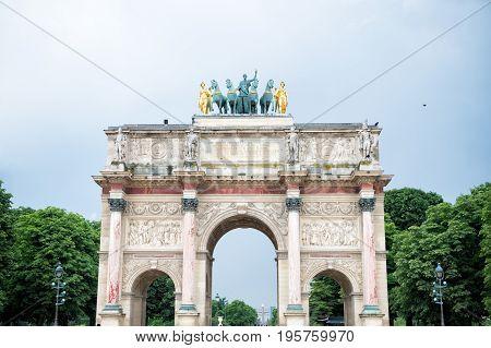 Triumphal Arch (arc De Triomphe Du Carrousel)