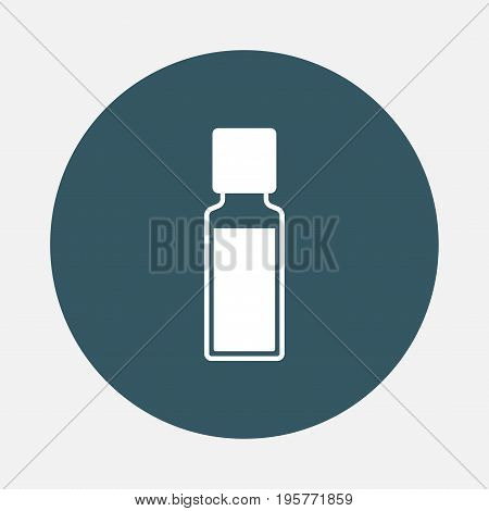 bottle of aroma oils icon. Vector icon for web graphic