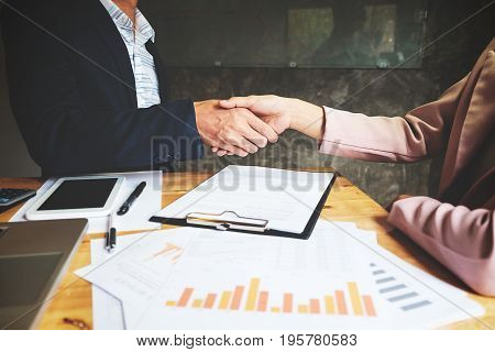 Teamwork Join Hands Support Together Concept. Business Team Coworker Brainstorming Meeting Concept
