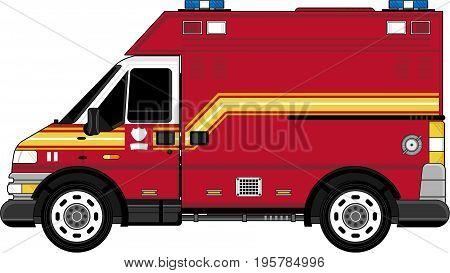 Firefighters Van