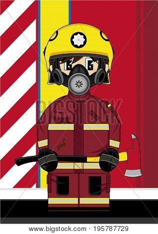 Cute Fireman 17