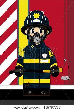 Cute Fireman 26