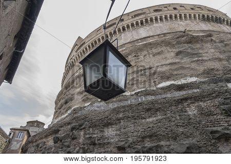 Castle Saint Angelo Rome Italy June 2017
