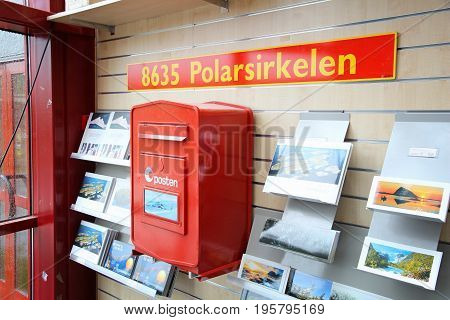 Arctic Circle Postbox