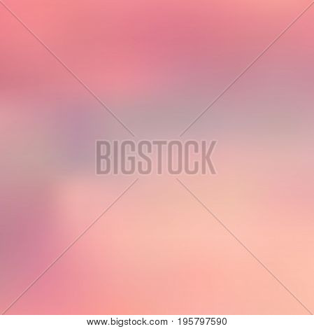 Abstract colorful blurred vector background. Element for your website or presentation. Pink color.