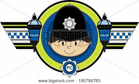 Classic Policeman Badge.eps