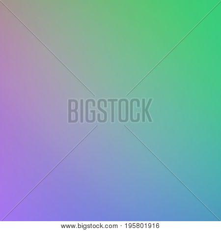 Green Blue Violet Beautiful Gradient Colors Blend Background Design