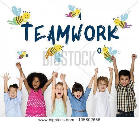 Teamwork Cooperation Work Together Concept